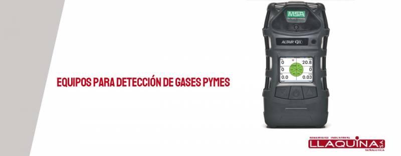 Equipos para detección de gases PYMES