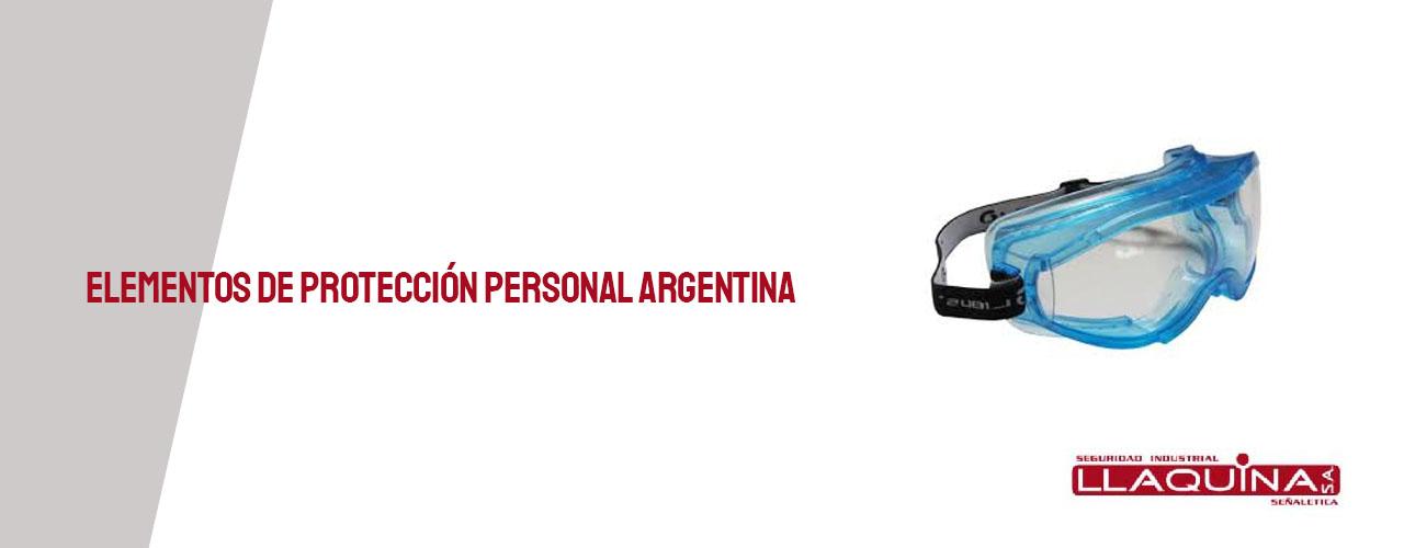 Elementos de Protección Personal Argentina