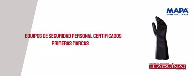 Equipos de Seguridad Personal certificados primeras marcas
