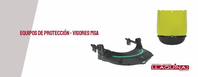 Equipos de seguridad personal certificados primeras marcas  -  Visores MSA