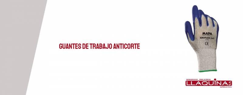 Guantes de trabajo anticorte