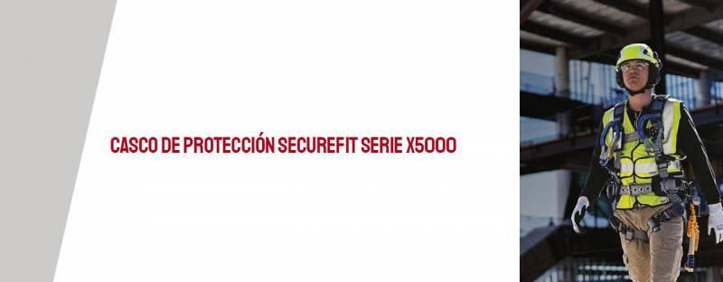 Casco de Protección SecureFit Serie X5000