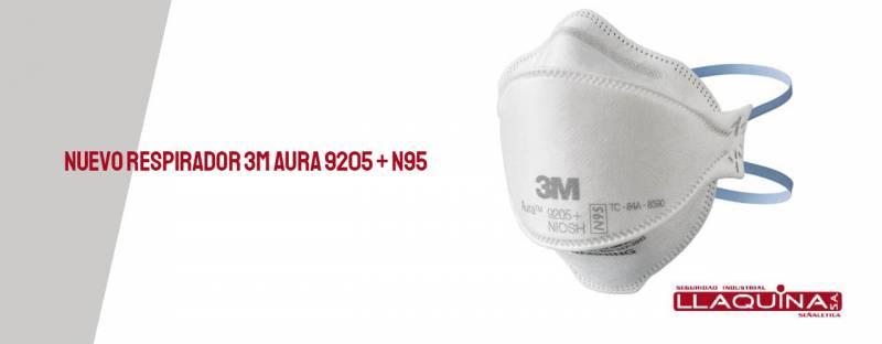 Nuevo respirador 3M Aura 9205 + N95