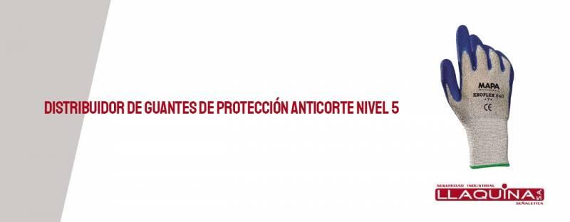 Distribuidor de guantes protección anticorte nivel 5