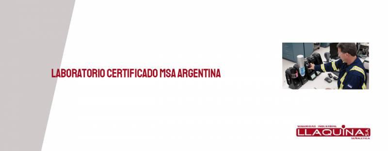 Laboratorio certificado MSA Argentina