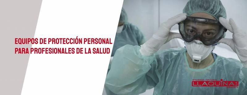 Equipos de protección personal (EPI) frente al coronavirus para profesionales de la salud