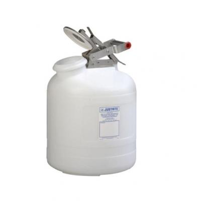 Bidon De Plastico Justrite  De Plastico Para Corrosivos - 5 Galones 12765
