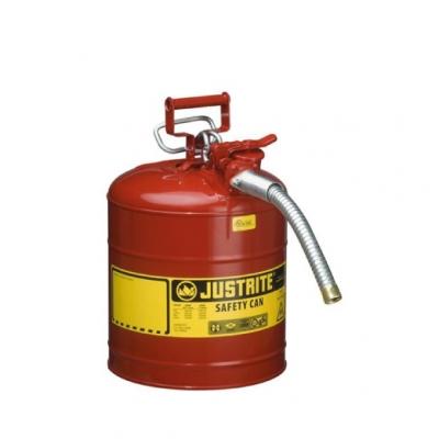 Bidon De Seguridadjustrite  Metalico Tipo Ii - 5 Galones 7250130