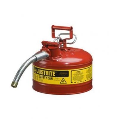 Bidon De Seguridad Justrite  Metalico Tipo Ii - 2.5 Galones 7225130