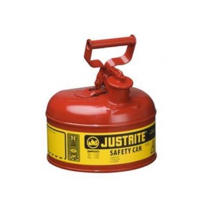 Bidon De Seguridad Justrite 7110100 Metalico Tipo I - 1 GalÓn - 7110100