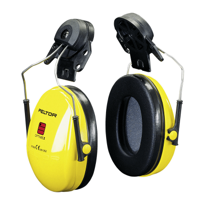 3M PROTECTOR AUDITIVO PELTOR OPTIME OREJERAS PARA CASCO