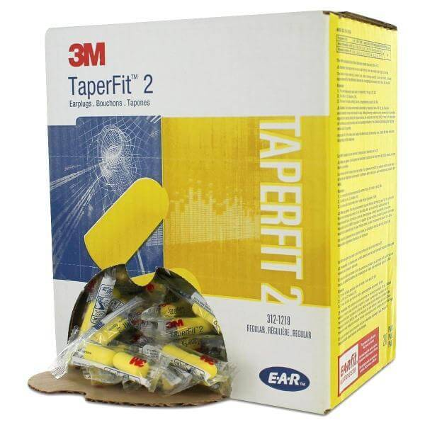 PROTECTOR AUDITIVO ENDOAURAL AUTOEXPANSIBLE 3M-TAPERFIT II SIN CORDON