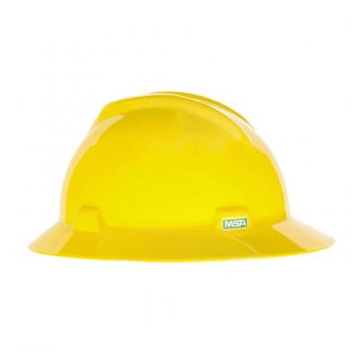 Casco Msa V Gard Sombrero Amarillo