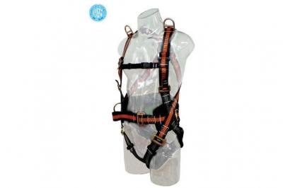 Arnes Full Body De 5 Puntos De Anclaje, Proteccion Lumbar Y Porta Herramientas
