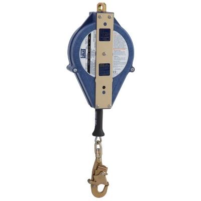 Retractil Para Rescate Rsq Ultra Lok, Cable De Acero De 15 Mts