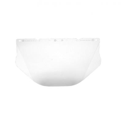 Visor V-gard - Transparente -policarbonato - Contornos Laterales