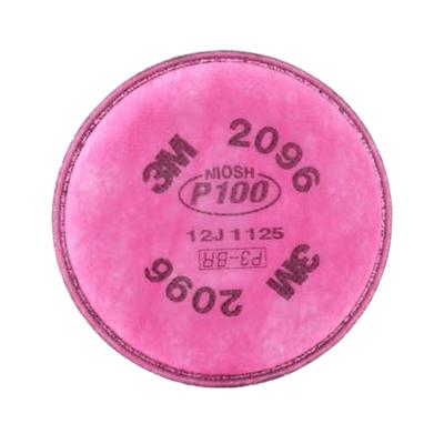 3M FILTRO 2096 P100 PARA PARTÍCULAS Y GASES ÁCIDOS