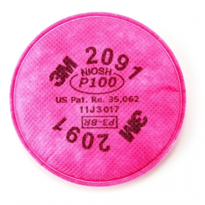 3m Filtro 2091 Para Particulas P100