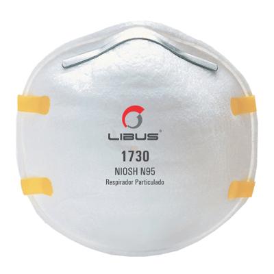 Respirador Descartable Libus 1730 N95