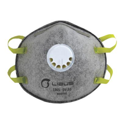Respirador Descartable Libus 1745 Para Particulas N 95- Con Valvula