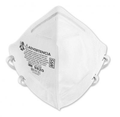Respirador Descartable Modelo 9820, N95