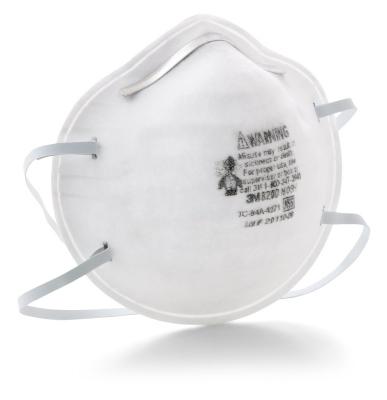 Respirador Descatable 3m-8200 (n95) X 20 U.