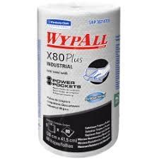 PAÑO WYPALL X80, CON POWER POCKETS