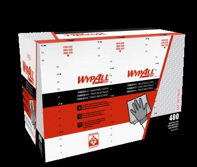 PaÑos De Limpieza Wypall X75 Fuerzamax -   Caja X 480 PaÑos Pre Doblados 34x35cm