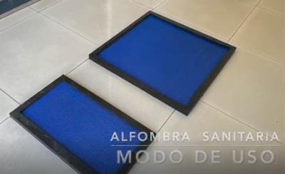 ALFOMBRA SANITARIA -  LIMPIEZA DE CALZADOS