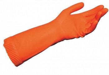 GUANTE NODROP 182 de LATEX NATURAL FLOCADO